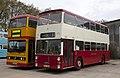 Titan (WDA 4T) & Fleetline (PDU 135M) , Wythall Transport Museum, 4 April 2011 (2).jpg