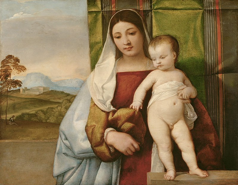 Tiziano Vecellio,called Titian - Gipsy Madonna - Google Art Project.jpg