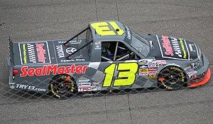 Todd Bodine - Bodine's 2013 truck at Rockingham Speedway