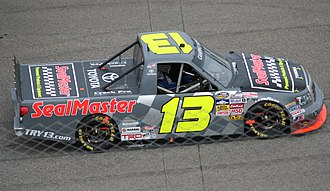 Todd Bodine - Bodine's 2013 truck at Rockingham Speedway