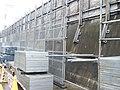 Tokaido Shinkansen concrete retaining wall retrofitting works.jpg