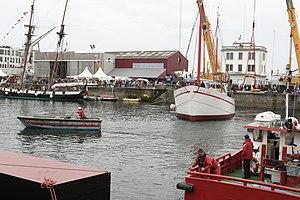 Tonnerres de Brest 2012 - Mise à l'eau Fée de l'Aulne 03.jpg