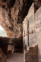 Tonto National Monument, AZ, room detail