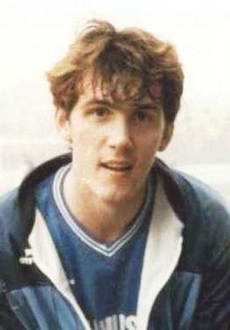 Tony Cascarino - Cascarino in 1986
