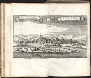 Krems an der Donau - View of Krems in 1679