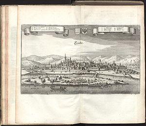 Krems an der Donau - View of Krems in 1679