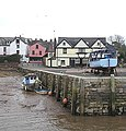 Topsham quay and the Lighter Inn - geograph.org.uk - 136915.jpg