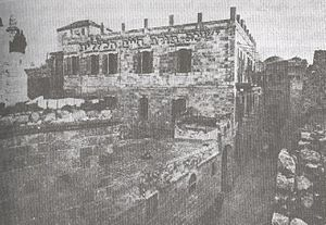 Ateret Cohanim - Early 20th century photograph of the Torath Chaim Yeshiva