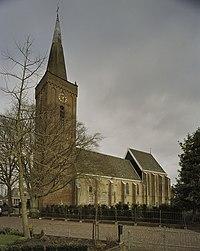 Toren westgevel met houten dakruiter met ingesnoerde spits - Benningbroek - 20405859 - RCE.jpg