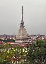 This is a file from the Wikimedia Commons: en.wikipedia.org/wiki/File:Torino-moleA.jpg; released by its author, Daniel Ventura, under the GNU Free Documentation License