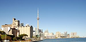 English: Toronto: Skyline, left side the Canad...