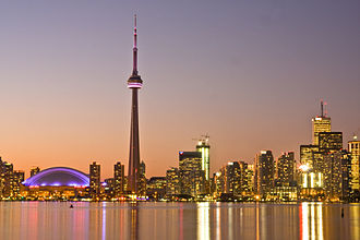 Great Lakes Megalopolis - Image: Toronto at Dusk a