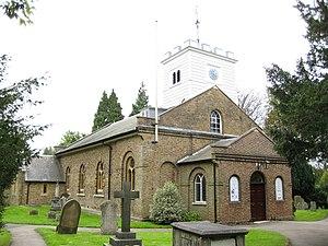 St Andrew's church, Totteridge - St Andrew's church, Totteridge