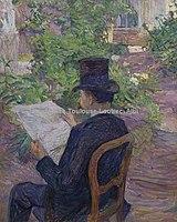 Toulouse-Lautrec - Mr DESIRE DIHAU, 1891, MTL.136.jpg