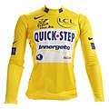 Tour de France 2006 yellow jersey (Tom Boonen).jpg