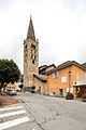 Tour de l'église Saint-Étienne, Saint-Étienne-de-Tinée, France.jpg