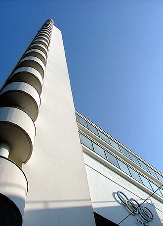Helsinki Olympic Stadium - Image: Tower of the Helsinki Olympic Stadium