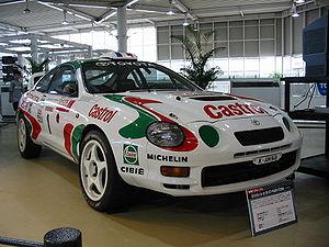Didier Auriol - Auriol's Toyota Celica GT-Four 1995 Tour de Corse winning car.
