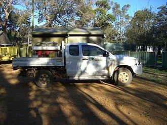Department of Conservation and Land Management (Western Australia) - Image: Toyota Hilux 3.0 D4D DR Light Unit Ranger SRNP 22 X 2005