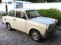 Trabant 1.1 sedan next to Belweder Palace - fr.jpg