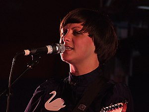 Camera Obscura (band) - Tracyanne Campbell in 2007