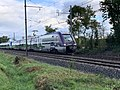 Train TER SNCF Class B 81500 Ligne ferroviaire Mâcon Ambérieu Route Prales Perrex 2.jpg