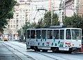 Tramway in Sofia in Alabin Street 2012 PD 002.jpg