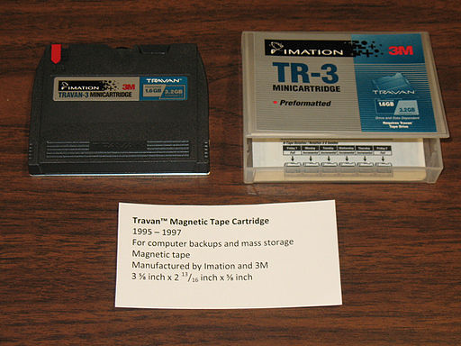 Travan™TR-3 Magnetic Tape Cartridge (8744993952)