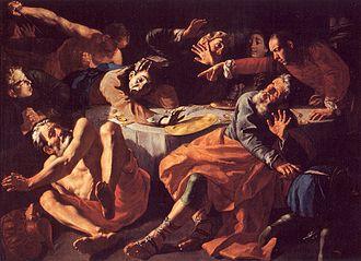 1752 in art - Image: Traversi Ermordung Amnons