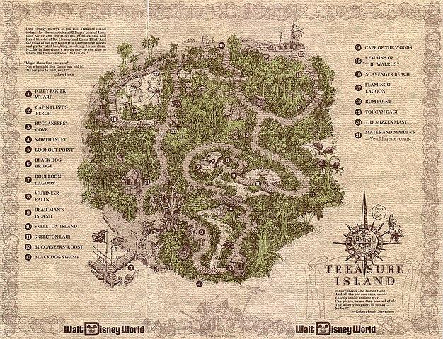 내 마음이 있는 곳 보물섬 지도