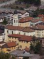 Trento-Mattarello-San Leonardo viewed from the Obere Batterie Mattarello.jpg