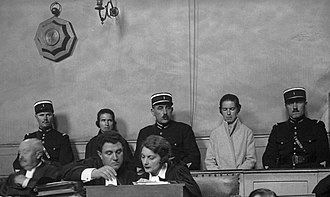 Christine and Léa Papin - The sisters during their 1933 trial
