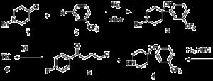 Trifluperidol - Image: Trifluperidol Synthesis