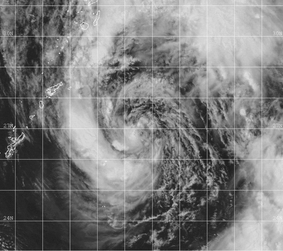 Tropical Storm Paul 1999