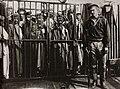 Tschechow, Anton - Der Käfig der Strafgefangenen auf dem Frachtdampfer »Petersburg«, der sie nach der Insel Sachalin deportiert (Zeno Fotografie).jpg