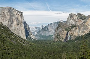 National park - Yosemite Valley, Yosemite National Park, in California
