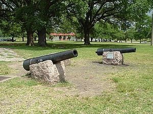 Battle of Galveston - Image: Twin Sisters, San Jacinto