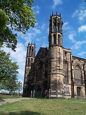 Stanley, West Yorkshire - The former St Peter's church