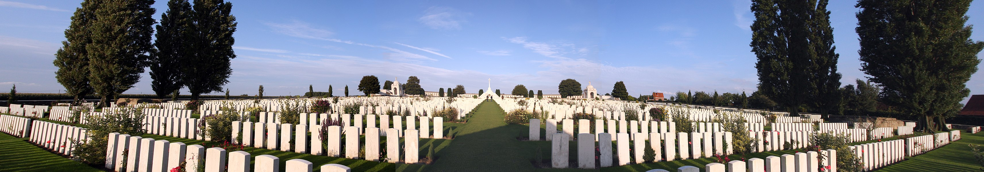 The Commonwealth War Grave site, Tyne Cot, Belgium