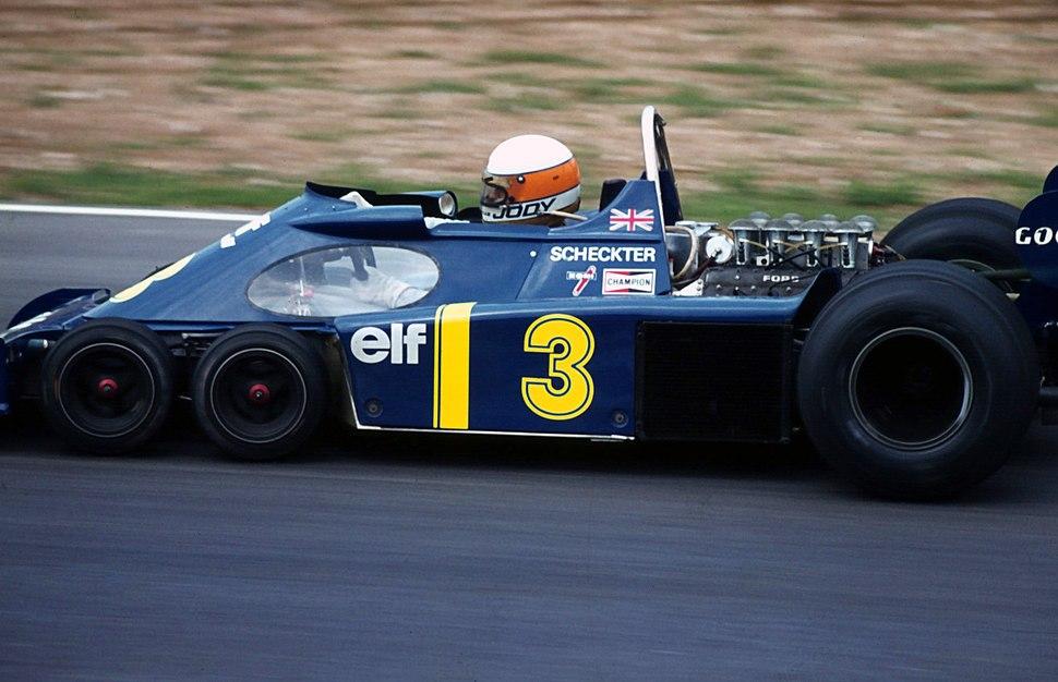 Tyrell Scheckter P34