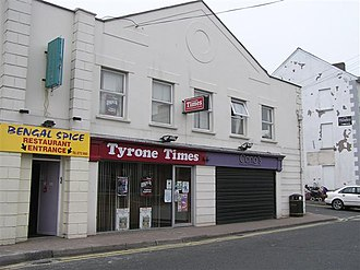 Tyrone Times - Tyrone Times offices in Dungannon.