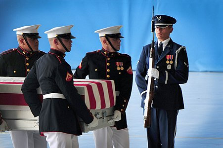 U.S. Air Force, Marine Corps ceremonial guardsmen honor lives lost 120914-F-OR567-183