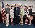 U.S. Department of Agriculture (USDA) Secretary Tom Vilsack (center-left) meets with the Youth Leadership Team.jpg