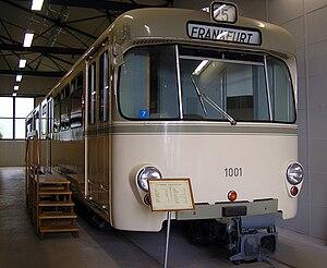 Siemens–Duewag U2 - Siemens U1 car 1001 prototype.