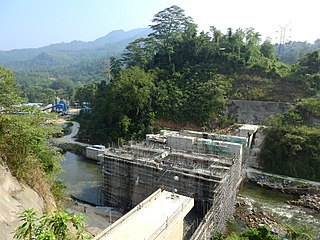 Broadlands Dam hydroelectric dam in Sri Lanka