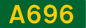 A696 road shield