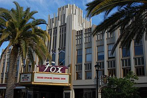 Fox Theatre (Redwood City, California) - Image: USA Redwood City New Sequoia Theater Building 2