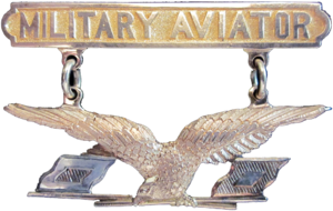 Aviation Section, U.S. Signal Corps - Military Aviator Badge, 1913