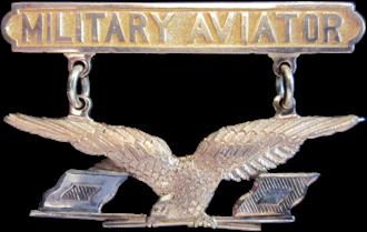 Aviation Section, U.S. Signal Corps - Military Aviator Badge, 1913