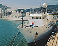 USNS Observation Island (T-AGM-23) and USNS Invincible (T-AGM-24) at Sasebo, Japan.jpg